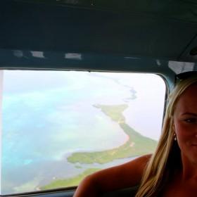 Belize arhipelaagi kohal